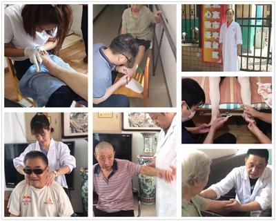 中秋将至,北京成人按摩学校走进爱心敬老院为老人送健康!